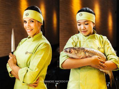 Sushi Bloem chefes. Foto: Alexandre Macedo. © Alexandre Macedo - Todos direitos reservados