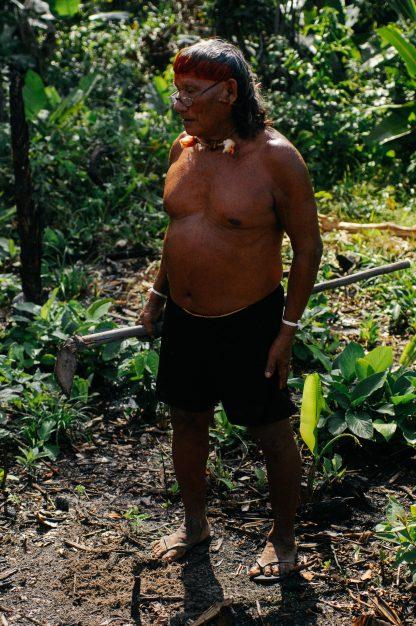 Abraão Vieira dos Santos Xavante, Aldeia Xavante Marãiwatsédé